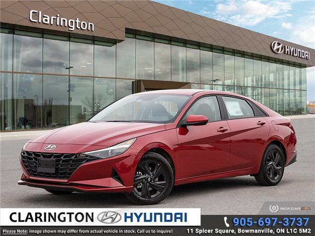 2021 Hyundai Elantra Preferred w/Sun & Tech Pkg (Stk: 20764) in Clarington - Image 1 of 24