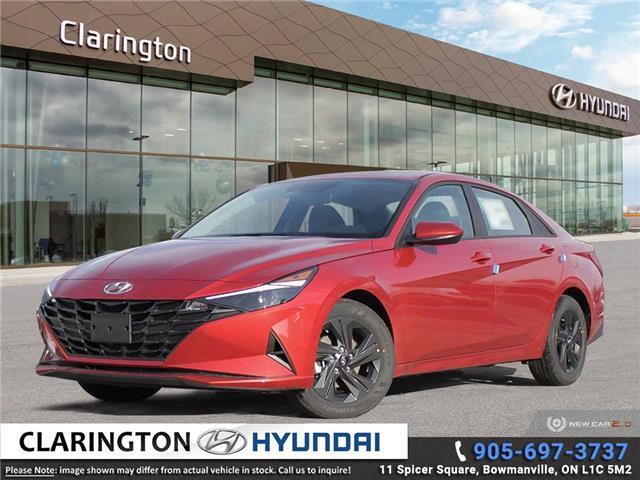 2021 Hyundai Elantra Preferred w/Sun & Tech Pkg (Stk: 20949) in Clarington - Image 1 of 24