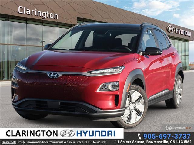 2021 Hyundai Kona EV Preferred w/Two Tone (Stk: 20768) in Clarington - Image 1 of 24
