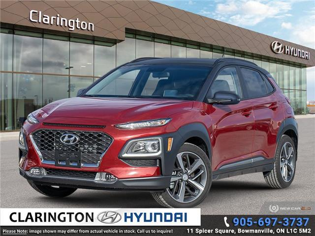 2021 Hyundai Kona 1.6T Trend w/Two-Tone Roof (Stk: 21154) in Clarington - Image 1 of 24
