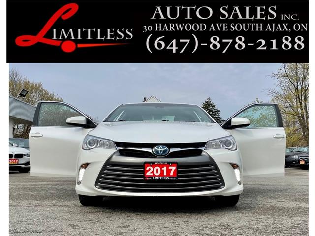 2017 Toyota Camry Hybrid XLE (Stk: 21-031) in Ajax - Image 1 of 26