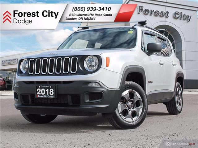 2018 Jeep Renegade Sport (Stk: 20-C020A) in London - Image 1 of 29