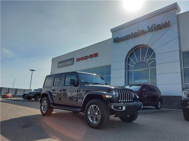 2019 Jeep Wrangler Unlimited Sahara (Stk: AM009A) in Olds - Image 1 of 29