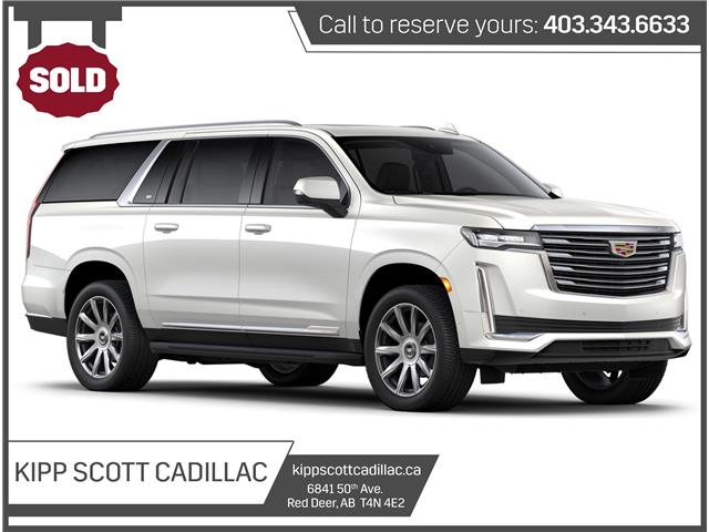 2021 Cadillac Escalade ESV Premium Luxury Platinum (Stk: 335188) in Red Deer - Image 1 of 1