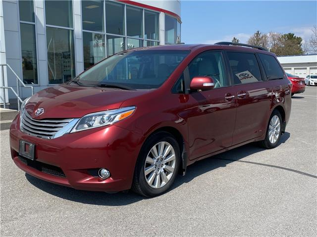 2017 Toyota Sienna Limited 7-Passenger (Stk: TX182A) in Cobourg - Image 1 of 1