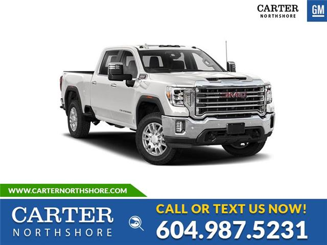 New 2021 GMC Sierra 2500HD Base  - North Vancouver - Carter GM North Shore