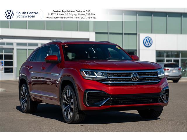 2021 Volkswagen Atlas Cross Sport 3.6 FSI Execline (Stk: 10259) in Calgary - Image 1 of 48