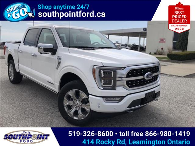 2021 Ford F-150 Platinum (Stk: SFF6921) in Leamington - Image 1 of 28