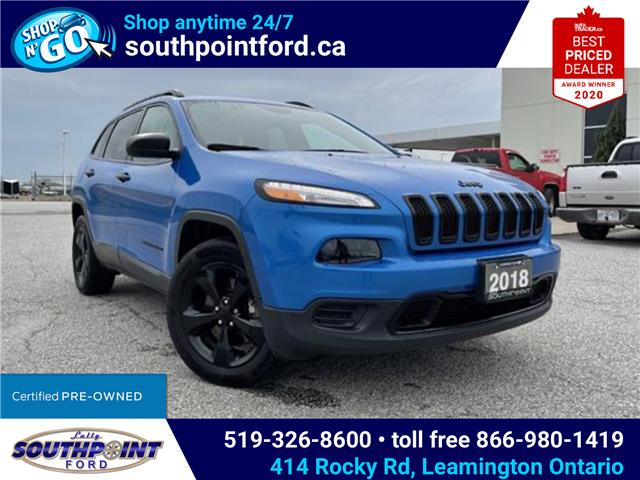 2018 Jeep Cherokee Sport (Stk: S10633A) in Leamington - Image 1 of 26