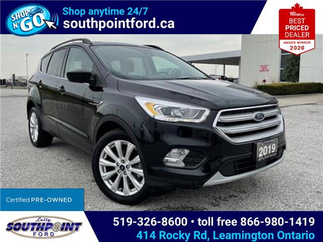 2019 Ford Escape SEL (Stk: S6975A) in Leamington - Image 1 of 27