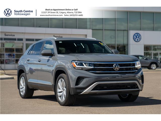 2021 Volkswagen Atlas Cross Sport 3.6 FSI Highline (Stk: 10257) in Calgary - Image 1 of 43