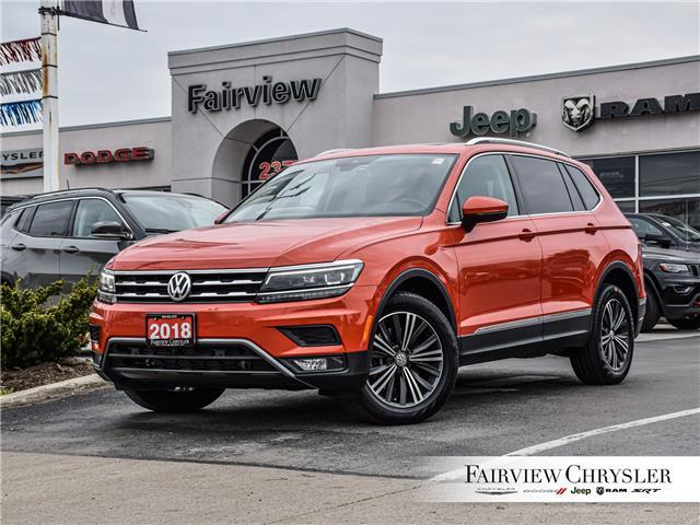 2018 Volkswagen Tiguan Highline (Stk: U18557) in Burlington - Image 1 of 29