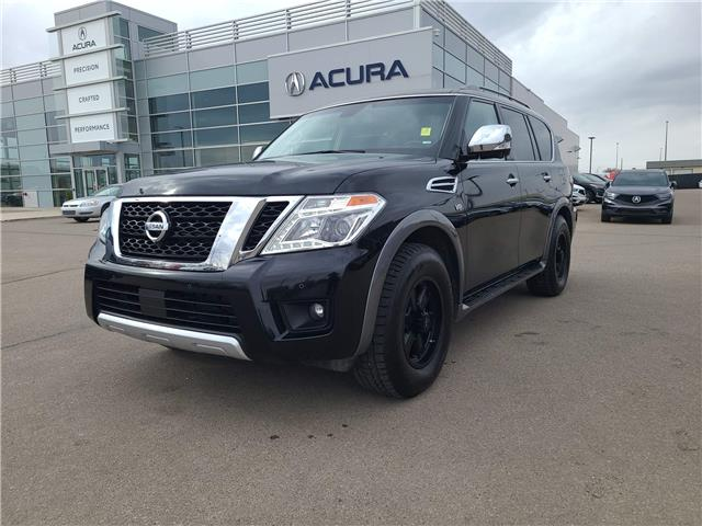 2017 Nissan Armada Platinum JN8AY2NE9H9704657 A4408 in Saskatoon