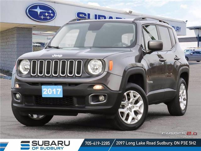 2017 Jeep Renegade North (Stk: US1223A) in Sudbury - Image 1 of 24
