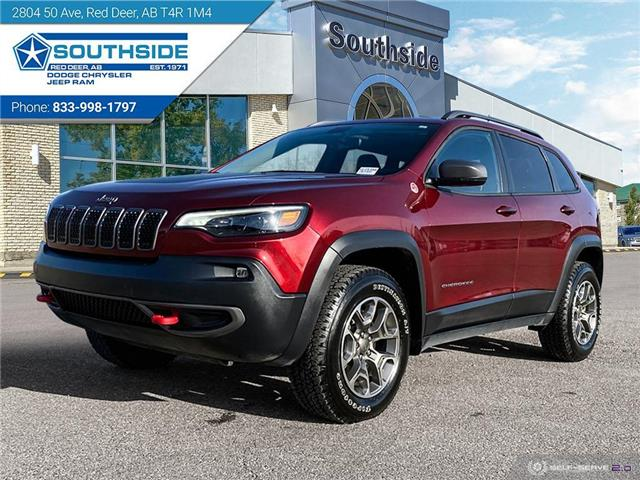 2020 Jeep Cherokee Trailhawk 1C4PJMBX5LD544326 GC2135A in Red Deer