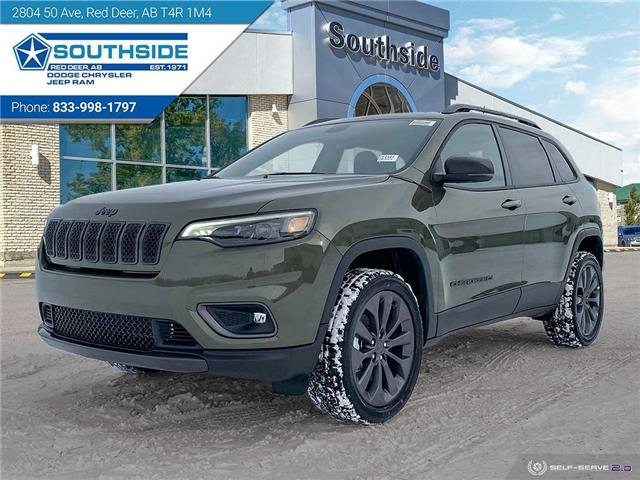 2021 Jeep Cherokee North (Stk: CE2107) in Red Deer - Image 1 of 25