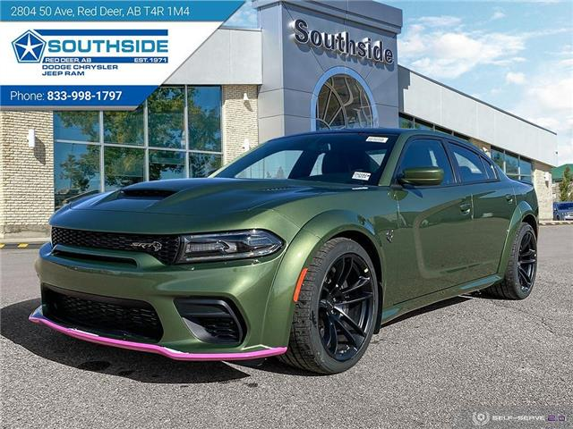 2021 Dodge Charger SRT Hellcat Widebody (Stk: CH2102) in Red Deer - Image 1 of 25