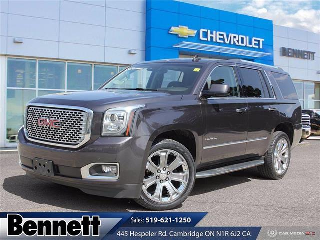2016 GMC Yukon Denali (Stk: 210601A) in Cambridge - Image 1 of 27