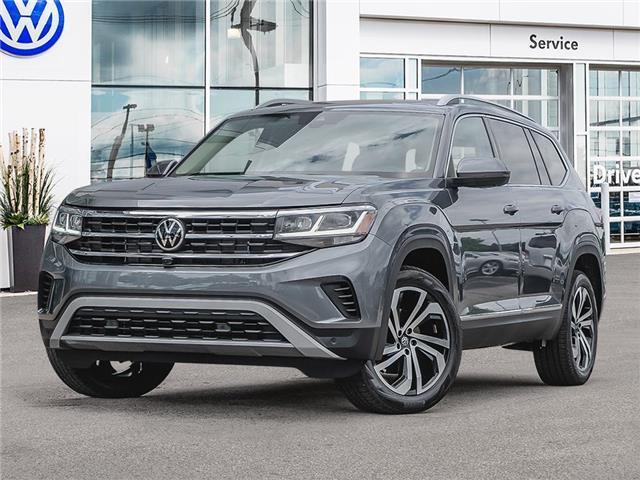 2021 Volkswagen Atlas 3.6 FSI Execline (Stk: A21075) in Sault Ste. Marie - Image 1 of 10