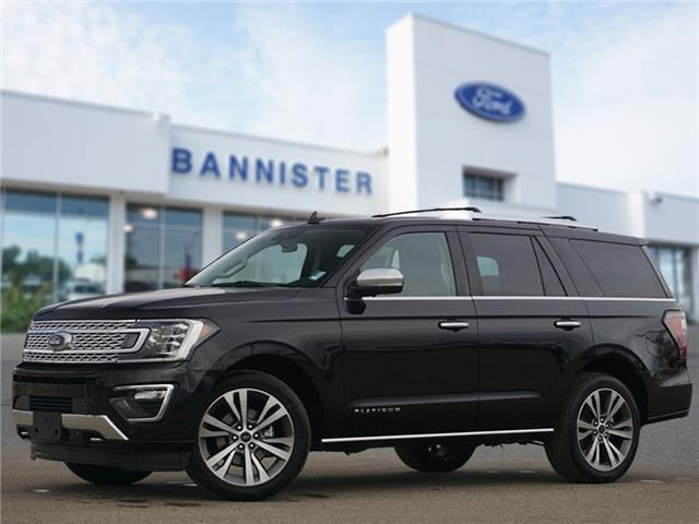 2021 Ford Expedition Platinum (Stk: S210056) in Dawson Creek - Image 1 of 22