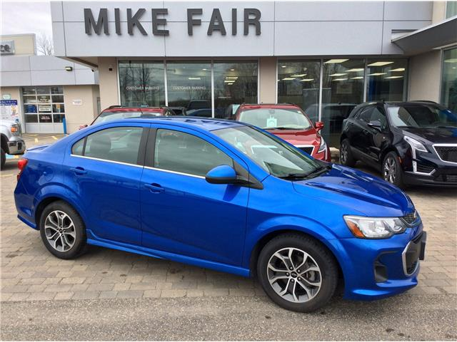 2018 Chevrolet Sonic LT Auto (Stk: P4348) in Smiths Falls - Image 1 of 15