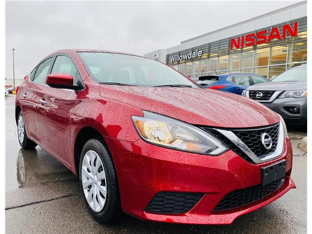 2019 Nissan Sentra 1.8 SV (Stk: N1356A) in Thornhill - Image 1 of 21