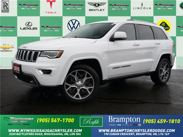 2018 Jeep Grand Cherokee Limited (Stk: 1458) in Mississauga - Image 1 of 27