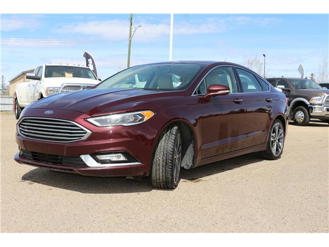 2017 Ford Fusion Titanium (Stk: LP086B) in Rocky Mountain House - Image 1 of 30