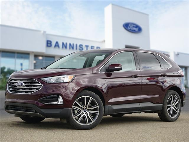 2019 Ford Edge Titanium (Stk: S210106A) in Dawson Creek - Image 1 of 23