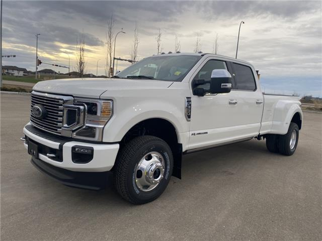 2021 Ford F-350 Platinum (Stk: MSD074) in Fort Saskatchewan - Image 1 of 22