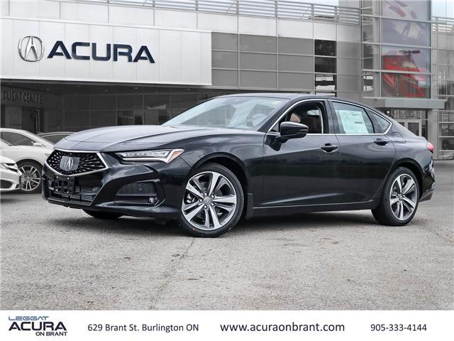 2021 Acura TLX Platinum Elite (Stk: 21160) in Burlington - Image 1 of 30