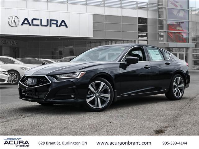 2021 Acura TLX Platinum Elite (Stk: 21161) in Burlington - Image 1 of 30