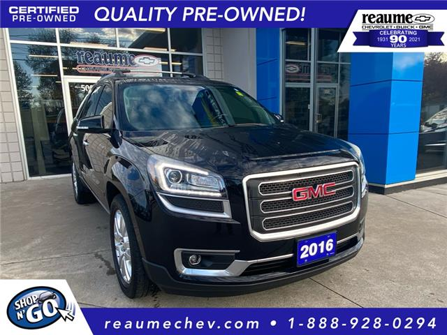 2016 GMC Acadia SLT1 (Stk: 21-0346A) in LaSalle - Image 1 of 28