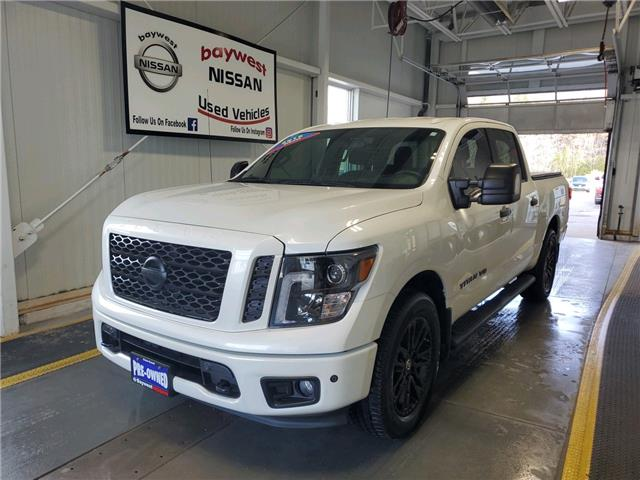 2018 Nissan Titan SV Midnight Edition (Stk: -P0919) in Owen Sound - Image 1 of 17