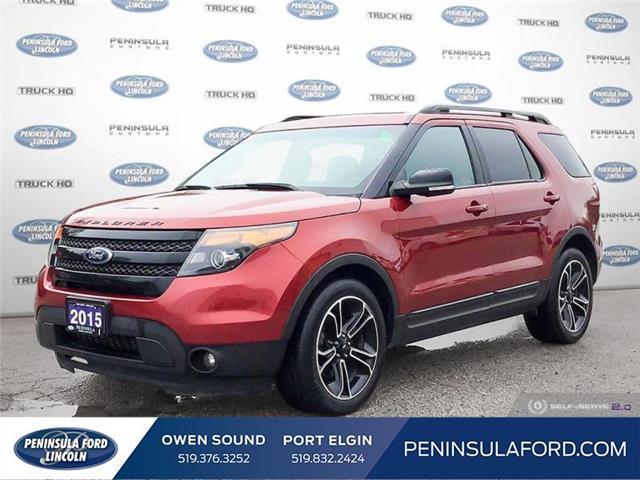 2015 Ford Explorer Sport (Stk: 21EX23A) in Owen Sound - Image 1 of 25