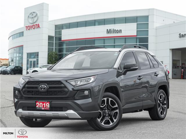 2019 Toyota RAV4 Trail (Stk: 051499A) in Milton - Image 1 of 21
