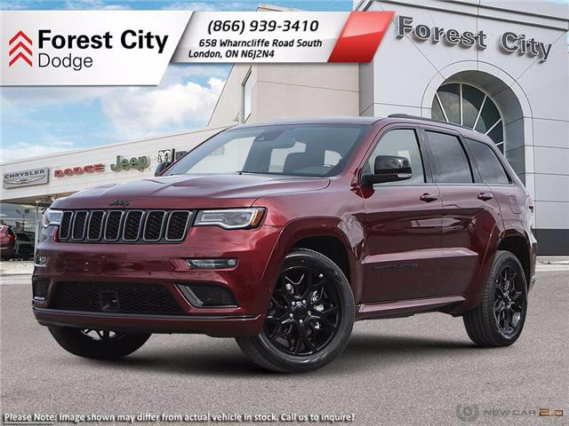 2021 Jeep Grand Cherokee Limited (Stk: 21-7023) in London - Image 1 of 22