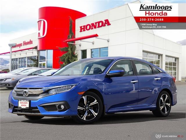 2017 Honda Civic Touring (Stk: 15224A) in Kamloops - Image 1 of 25