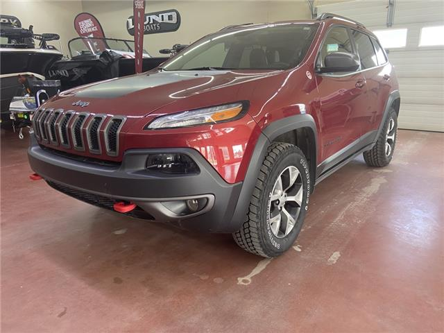 2017 Jeep Cherokee Trailhawk 1C4PJMBS8HW609704 N21-52A in Nipawin