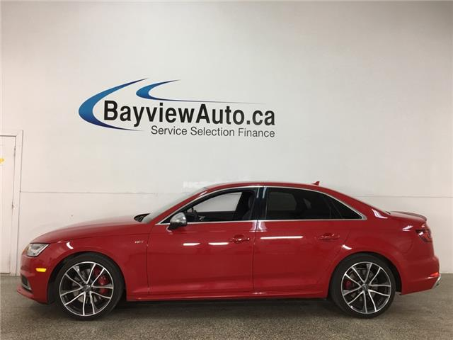 2018 Audi S4 3.0T Technik (Stk: 37822W) in Belleville - Image 1 of 25