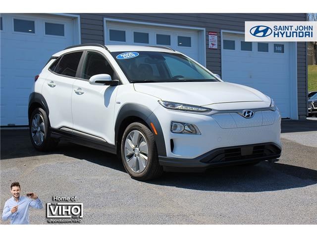 2020 Hyundai Kona EV Preferred (Stk: U3048) in Saint John - Image 1 of 21