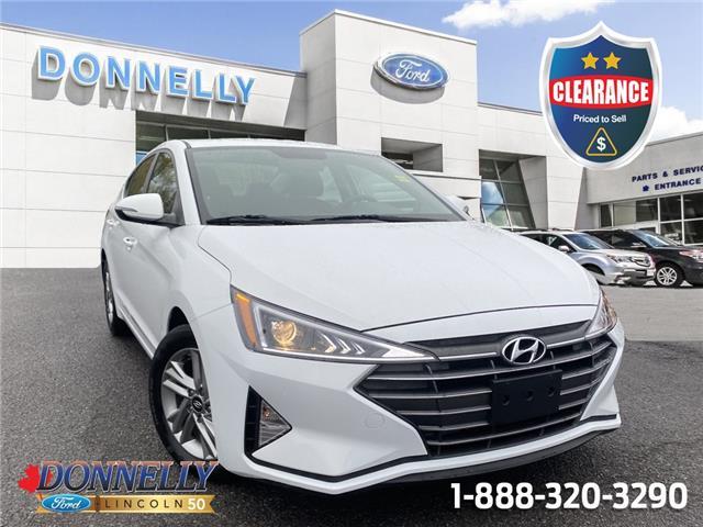 2020 Hyundai Elantra  KMHD84LF9LU055511 CLDUR6786 in Ottawa
