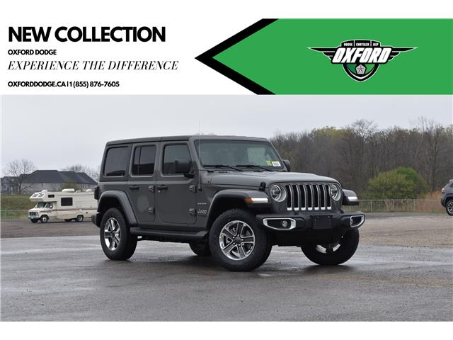 2021 Jeep Wrangler Unlimited Sahara (Stk: 21458) in London - Image 1 of 23