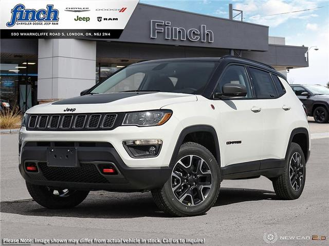 2021 Jeep Compass Trailhawk (Stk: ) in London - Image 1 of 24