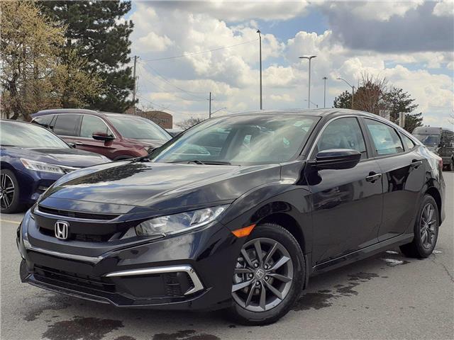 2021 Honda Civic EX (Stk: 17-21-0185) in Ottawa - Image 1 of 26