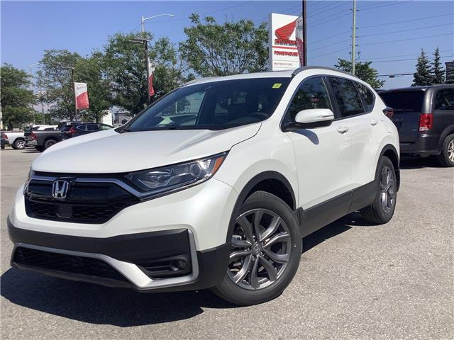2021 Honda CR-V Sport (Stk: 11-21262) in Barrie - Image 1 of 30