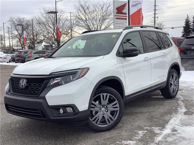 2021 Honda Passport EX-L (Stk: 11-21256) in Barrie - Image 1 of 26