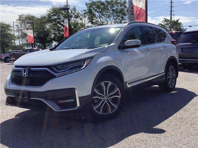 2021 Honda CR-V Touring (Stk: 11-21387) in Barrie - Image 1 of 27