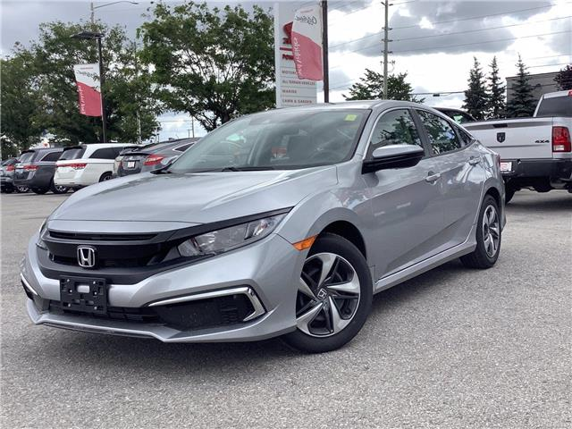 2021 Honda Civic LX (Stk: 11-21440) in Barrie - Image 1 of 22