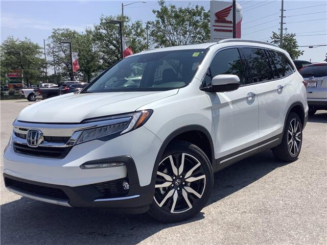 2021 Honda Pilot Touring 8P (Stk: 11-21422) in Barrie - Image 1 of 25
